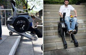 Sedie A Rotelle Per Scale : Salire le scale in carrozzina ora si può disabili mobilità
